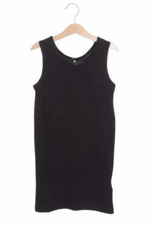 Μπλουζάκι αμάνικο παιδικό Name It, Μέγεθος 8-9y/ 134-140 εκ., Χρώμα Μαύρο, 95% βαμβάκι, 5% ελαστάνη, Τιμή 10,82€