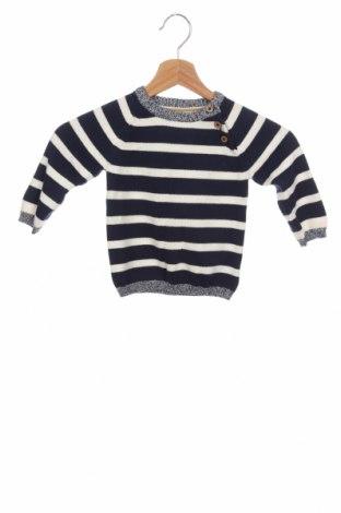 Dětský svetr  H&M, Velikost 9-12m/ 74-80 cm, Barva Modrá, Bavlna, Cena  367,00Kč