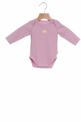 Παιδικό κορμάκι Steiff, Μέγεθος 1-2m/ 50-56 εκ., Χρώμα Ρόζ , 95% βαμβάκι, 5% ελαστάνη, Τιμή 5,77€