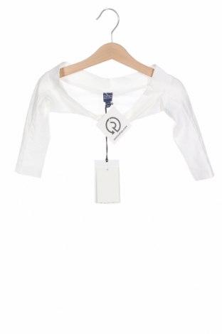 Детско болеро Papermoon, Размер 12-18m/ 80-86 см, Цвят Бял, 95% памук, 5% еластан, Цена 33,00лв.