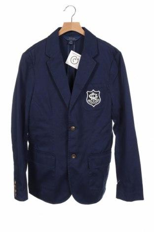 Παιδικό σακάκι Polo By Ralph Lauren, Μέγεθος 15-18y/ 170-176 εκ., Χρώμα Μπλέ, Βαμβάκι, Τιμή 49,72€