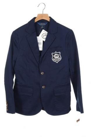 Dětské sako  Polo By Ralph Lauren, Velikost 10-11y/ 146-152 cm, Barva Modrá, Bavlna, Cena  685,00Kč