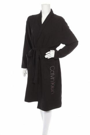 Μπουρνούζι Calvin Klein, Μέγεθος S, Χρώμα Μαύρο, 95% βαμβάκι, 5% ελαστάνη, Τιμή 59,83€