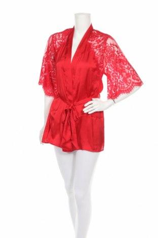 Μπουρνούζι Hunkemoller, Μέγεθος S, Χρώμα Κόκκινο, Πολυεστέρας, Τιμή 17,07€
