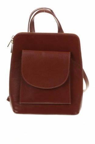 Δερμάτινη τσάντα Massimo Castelli, Χρώμα Καφέ, Γνήσιο δέρμα, Τιμή 108,75€