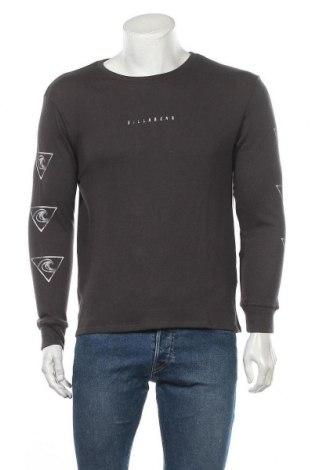 Мъжка блуза Billabong, Размер M, Цвят Сив, 34% памук, 33% вискоза, 33% полиестер, Цена 46,92лв.