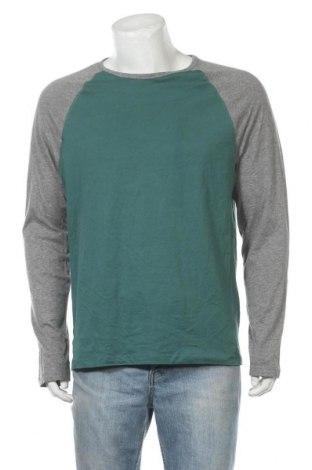 Мъжка блуза Emerson, Размер XL, Цвят Зелен, Памук, вискоза, Цена 18,95лв.