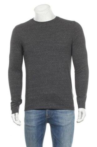 Мъжка блуза H&M, Размер M, Цвят Сив, 48% памук, 36% памук, 22% вискоза, 5% еластан, Цена 17,96лв.