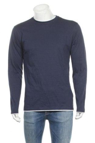 Мъжка блуза Identic, Размер M, Цвят Син, Памук, Цена 17,96лв.