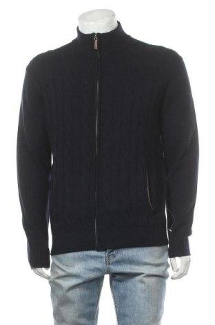 Ανδρική ζακέτα Christian Berg, Μέγεθος M, Χρώμα Μπλέ, Τιμή 10,67€
