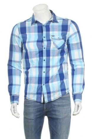 Мъжка риза Adidas Neo, Размер S, Цвят Син, Памук, Цена 20,48лв.