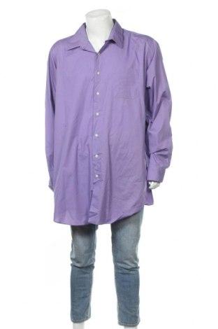 Мъжка риза Alexander Julian, Размер 3XL, Цвят Лилав, 55% памук, 45% полиестер, Цена 17,01лв.