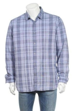 Ανδρικό πουκάμισο Alfani, Μέγεθος XL, Χρώμα Μπλέ, Βαμβάκι, Τιμή 6,43€