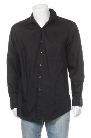 Ανδρικό πουκάμισο Alfani, Μέγεθος L, Χρώμα Μαύρο, Βαμβάκι, Τιμή 7,40€