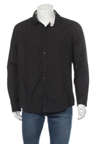 Мъжка риза Brave Soul, Размер XL, Цвят Черен, 65% полиестер, 35% памук, Цена 44,25лв.