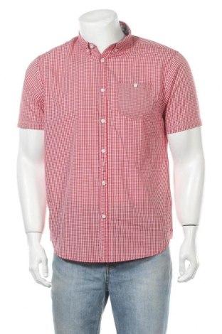 Ανδρικό πουκάμισο Brave Soul, Μέγεθος M, Χρώμα Κόκκινο, 53% βαμβάκι, 47% πολυεστέρας, Τιμή 16,60€