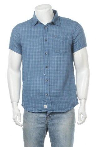 Ανδρικό πουκάμισο Broadway, Μέγεθος S, Χρώμα Μπλέ, Βαμβάκι, Τιμή 22,41€