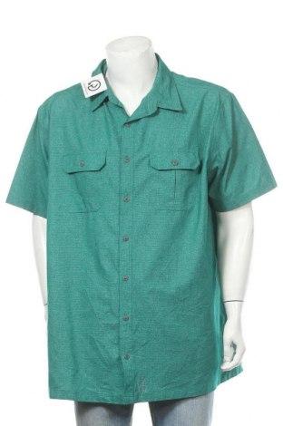 Ανδρικό πουκάμισο Croft & Barrow, Μέγεθος XXL, Χρώμα Πράσινο, Πολυεστέρας, Τιμή 11,11€