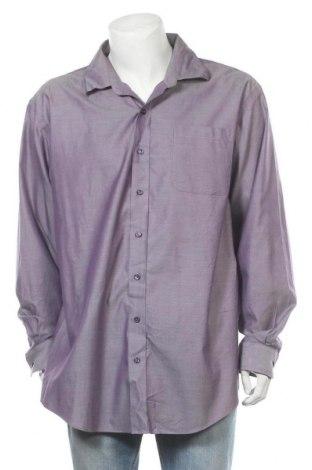 Ανδρικό πουκάμισο Denver Hayes, Μέγεθος XXL, Χρώμα Βιολετί, Βαμβάκι, Τιμή 11,11€