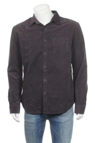 Ανδρικό πουκάμισο Desigual, Μέγεθος XL, Χρώμα Μπλέ, 100% βαμβάκι, Τιμή 26,38€
