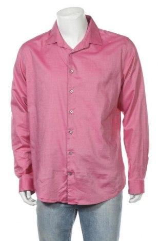 Ανδρικό πουκάμισο Express, Μέγεθος XL, Χρώμα Ρόζ , 96% βαμβάκι, 4% ελαστάνη, Τιμή 6,43€