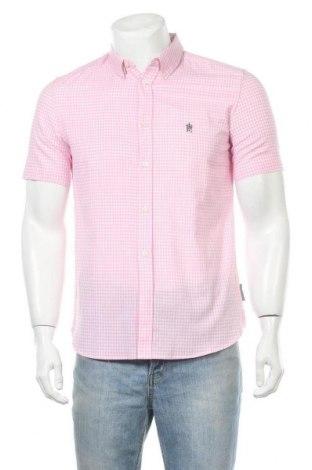 Ανδρικό πουκάμισο French Connection, Μέγεθος S, Χρώμα Ρόζ , Βαμβάκι, Τιμή 34,41€