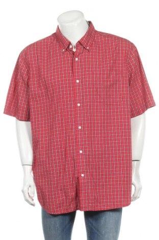 Ανδρικό πουκάμισο George, Μέγεθος XXL, Χρώμα Κόκκινο, 55% βαμβάκι, 45% πολυεστέρας, Τιμή 10,49€