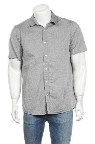 Мъжка риза Michael Kors, Размер L, Цвят Сив, Памук, Цена 53,55лв.