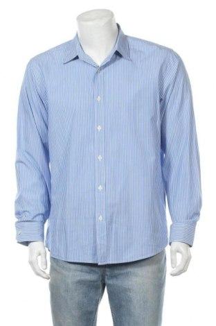 Мъжка риза Michael Kors, Размер XL, Цвят Син, Цена 45,36лв.