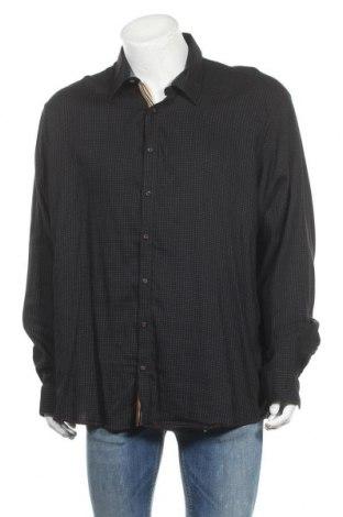 Ανδρικό πουκάμισο Morgan, Μέγεθος XXL, Χρώμα Μαύρο, 73% βαμβάκι, 24% πολυαμίδη, 3% ελαστάνη, Τιμή 12,06€