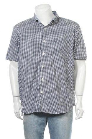 Ανδρικό πουκάμισο Nautica, Μέγεθος XXL, Χρώμα Μπλέ, Βαμβάκι, Τιμή 14,03€