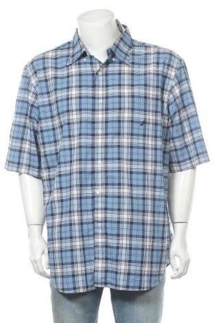 Ανδρικό πουκάμισο Nautica, Μέγεθος XXL, Χρώμα Μπλέ, Βαμβάκι, Τιμή 12,73€