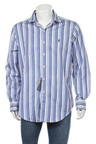 Ανδρικό πουκάμισο Polo By Ralph Lauren, Μέγεθος L, Χρώμα Μπλέ, Βαμβάκι, Τιμή 31,79€