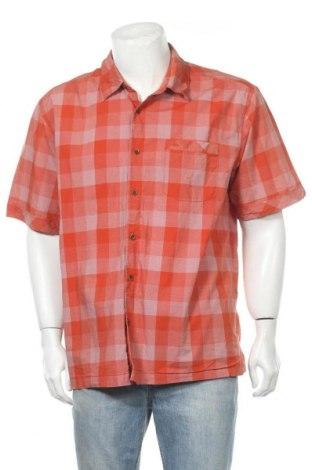 Ανδρικό πουκάμισο Quiksilver, Μέγεθος XL, Χρώμα Πορτοκαλί, Βαμβάκι, Τιμή 11,69€