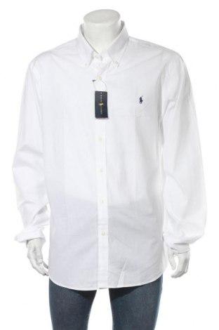 Мъжка риза Ralph Lauren, Размер XXL, Цвят Бял, Памук, Цена 116,07лв.