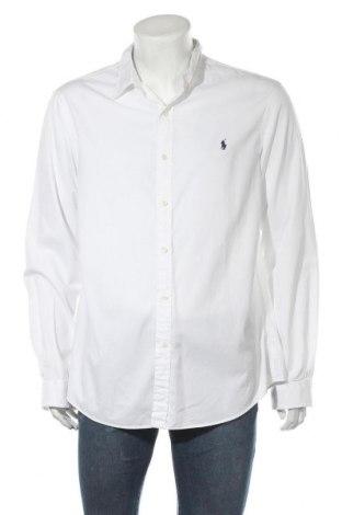 Мъжка риза Ralph Lauren, Размер XL, Цвят Бял, Памук, Цена 73,20лв.