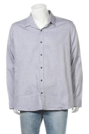 Мъжка риза Rw & Co., Размер XXL, Цвят Син, Памук, Цена 17,96лв.