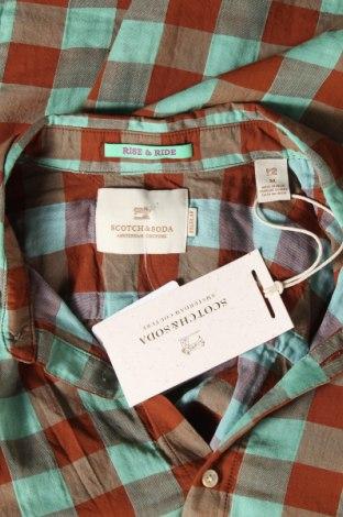 Мъжка риза Scotch & Soda, Размер M, Цвят Зелен, Памук, Цена 96,75лв.