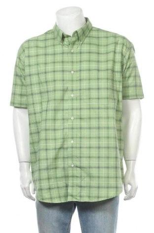 Ανδρικό πουκάμισο St. John's Bay, Μέγεθος XXL, Χρώμα Πράσινο, 60% βαμβάκι, 40% πολυεστέρας, Τιμή 10,49€