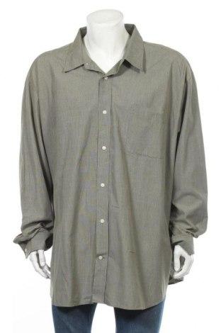 Ανδρικό πουκάμισο St. John's Bay, Μέγεθος 5XL, Χρώμα Πράσινο, Βαμβάκι, Τιμή 11,72€
