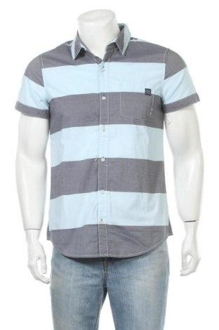 Мъжка риза Sublevel, Размер S, Цвят Син, Памук, Цена 39,00лв.