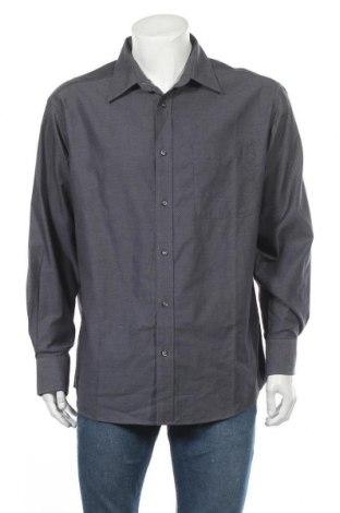 Ανδρικό πουκάμισο TCM, Μέγεθος XL, Χρώμα Γκρί, Βαμβάκι, Τιμή 11,04€