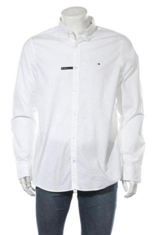 Ανδρικό πουκάμισο Tommy Hilfiger, Μέγεθος XL, Χρώμα Λευκό, 97% βαμβάκι, 3% ελαστάνη, Τιμή 48,54€