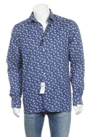 Ανδρικό πουκάμισο Van Laack, Μέγεθος M, Χρώμα Μπλέ, Βαμβάκι, Τιμή 39,34€