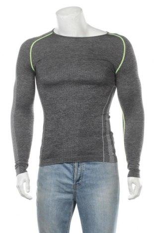 Мъжка спортна блуза Crane, Размер M, Цвят Сив, 60% полиамид, 40% полиестер, Цена 14,70лв.