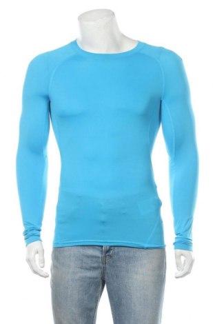 Мъжка спортна блуза Under Armour, Размер S, Цвят Син, 84% полиестер, 16% еластан, Цена 64,97лв.
