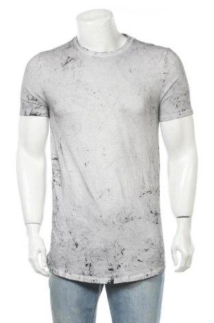 Ανδρικό t-shirt ASOS, Μέγεθος L, Χρώμα Γκρί, 94% βαμβάκι, 6% ελαστάνη, Τιμή 38,32€