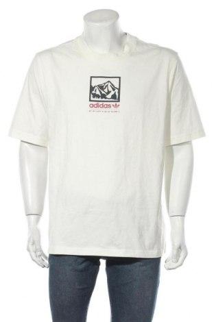 Ανδρικό t-shirt Adidas Originals, Μέγεθος M, Χρώμα Εκρού, Βαμβάκι, Τιμή 24,19€