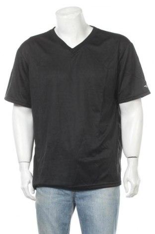 Мъжка тениска Alleson, Размер XL, Цвят Черен, Полиестер, Цена 5,99лв.