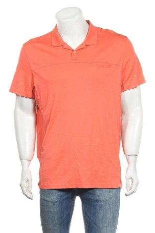 Ανδρικό t-shirt Calvin Klein, Μέγεθος XL, Χρώμα Πορτοκαλί, Βαμβάκι, Τιμή 22,73€